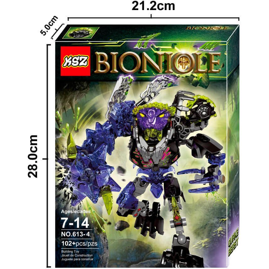 Конструктор Бионикл монстр землятресений