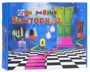 """Викторина """"Игры разума"""", 200 карточек (арт. И-1141)"""