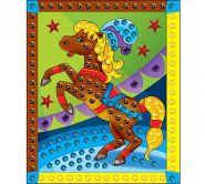 "Мозаика из пайеток ""Лошадка"", А4 (арт. М-4341)"