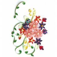 """Набор для детского творчества. Набор для квиллинга """"Яркие цветы"""" (арт. М-8020)"""