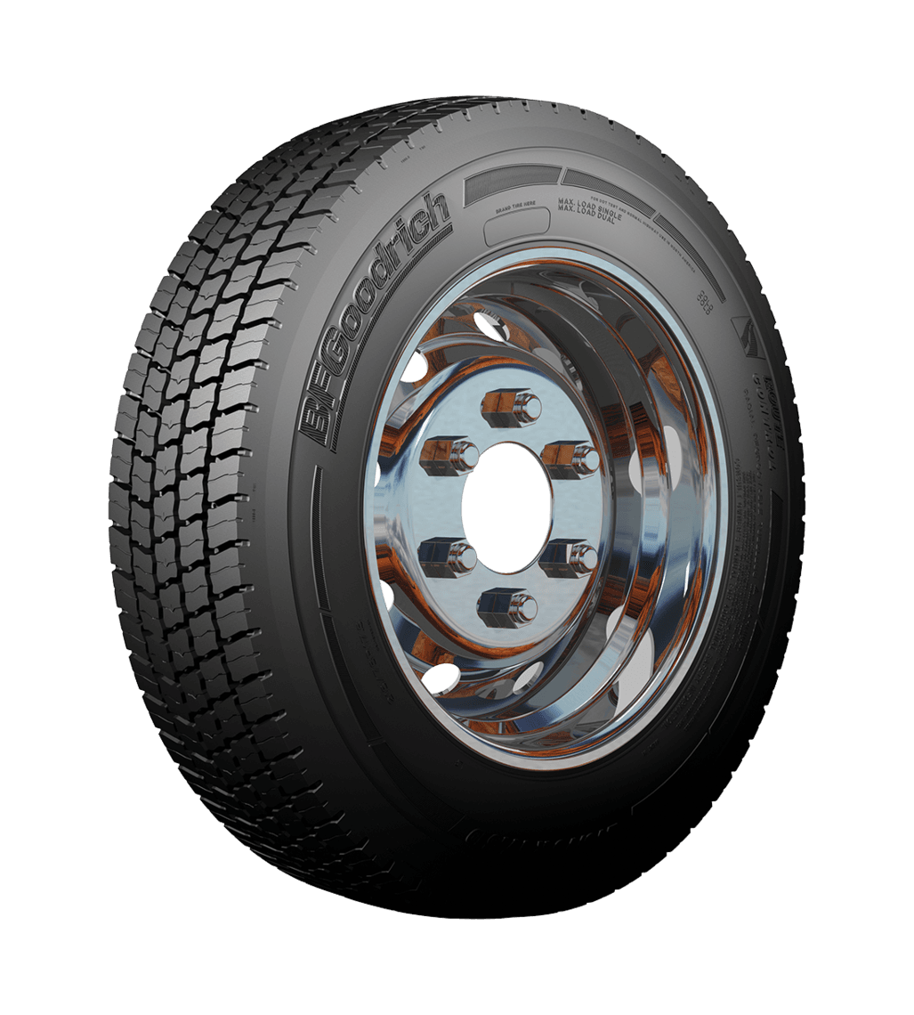 БФ гудрич 315/80R22.5 ROUTE CONTROL D TL 156/150 L Ведущая M+S