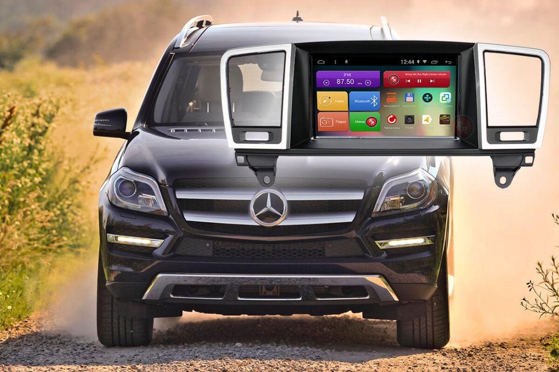 Redpower 31270 Головное устройство для Mercedes Benz GL X166 (2012-2016) и ML W166 (2011-2015)