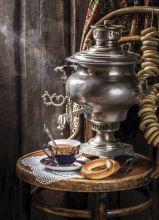 Postcard Tea party