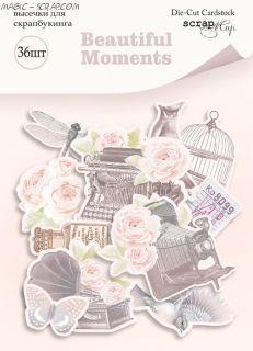 """Набор высечек  36шт  """"Beautiful Moments"""""""