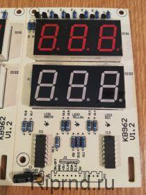 Плата индикации КВ962 v1.2