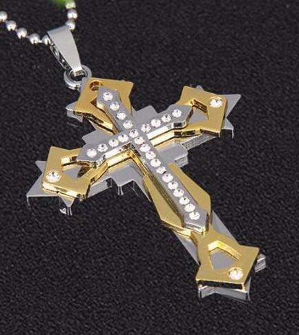 Нательный крест ZWY-10192G-AL