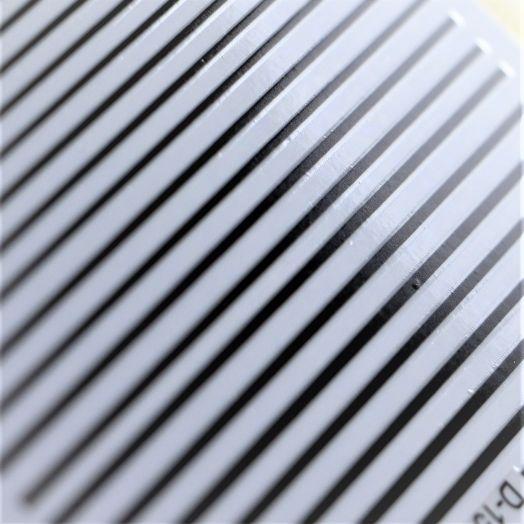 3D металлические наклейки полосы BLACK