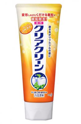 Kao Clear Clean Зубная паста освежающая с фтором для профилактики кариеса и гингивита 130 гр