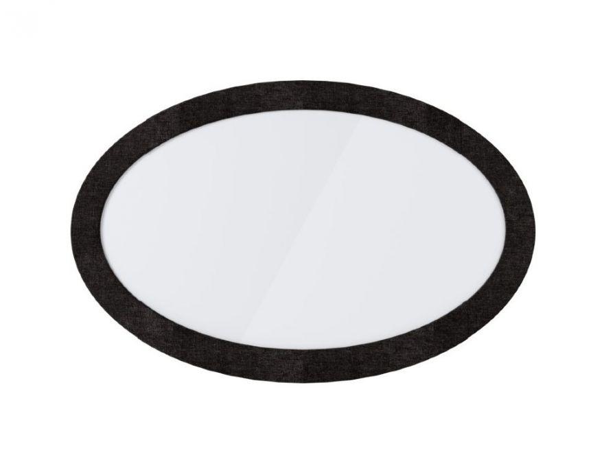 Зеркало Люкс овальное   Сонум