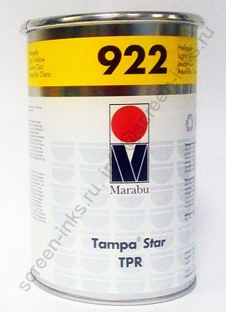 Краска Marabu Tampastar TPR 922 Light Yellow 1 л.