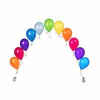 Цепочка из гелиевых шаров (11 шаров)
