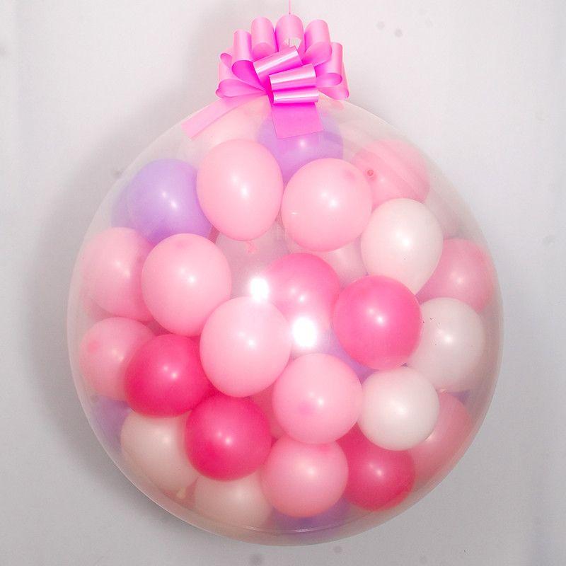 Шар Сюрприз «Для девочки» наполнение шариками