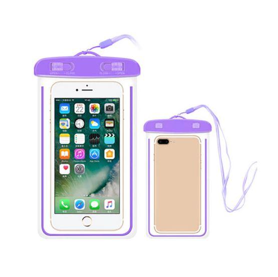 Водонепроницаемый Чехол-Пакет Для Телефона, Цвет Фиолетовый