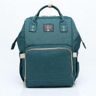 Сумка-рюкзак для мамы Mummy Bag, Темно-зелёный