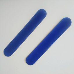 синие бархатные чехлы для шариковых ручек