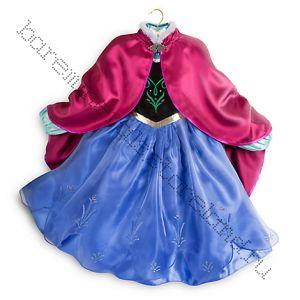 Платье костюм Анны Disney 4 года