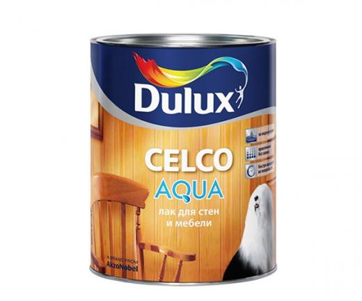 DULUX CELCO AQUA 10 водораствор. лак для внутренних работ, матовый
