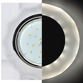 Встраиваемый светильник Ecola SL53RCECH