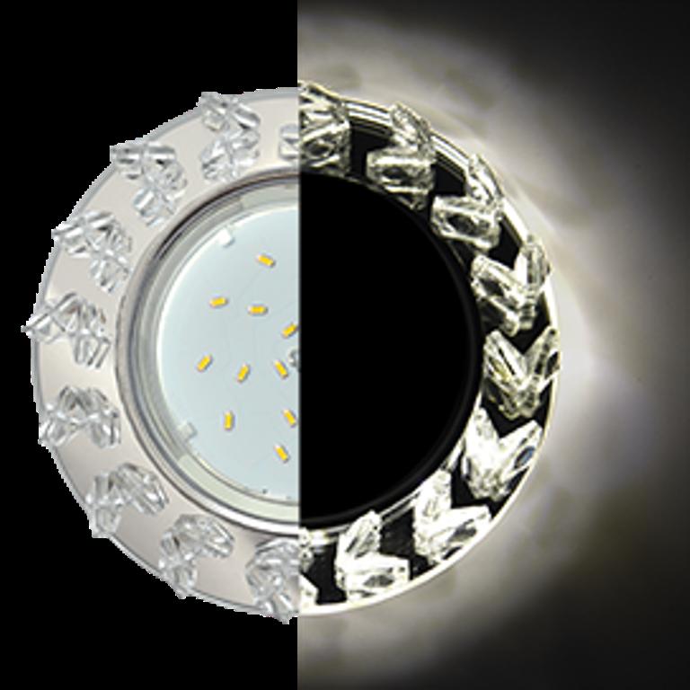 Встраиваемый светильник Ecola SE53RNEFB