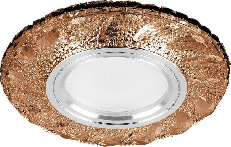 Встраиваемый светильник Feron CD907 коричневый
