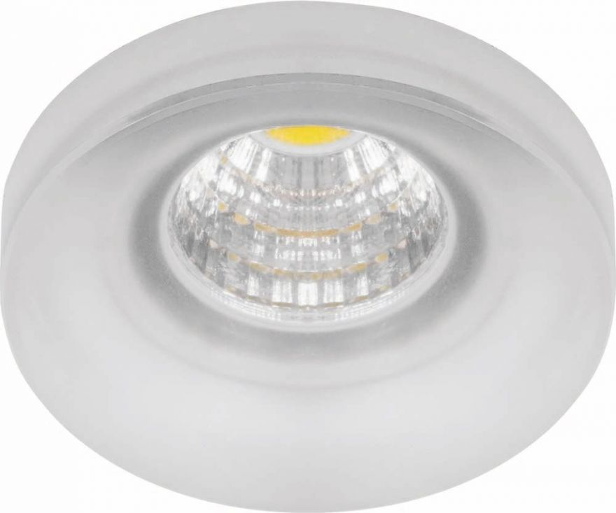 Встраиваемый светильник Feron LN003 3W прозрачный