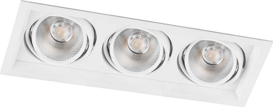 Встраиваемый светильник Feron AL203 3x12W