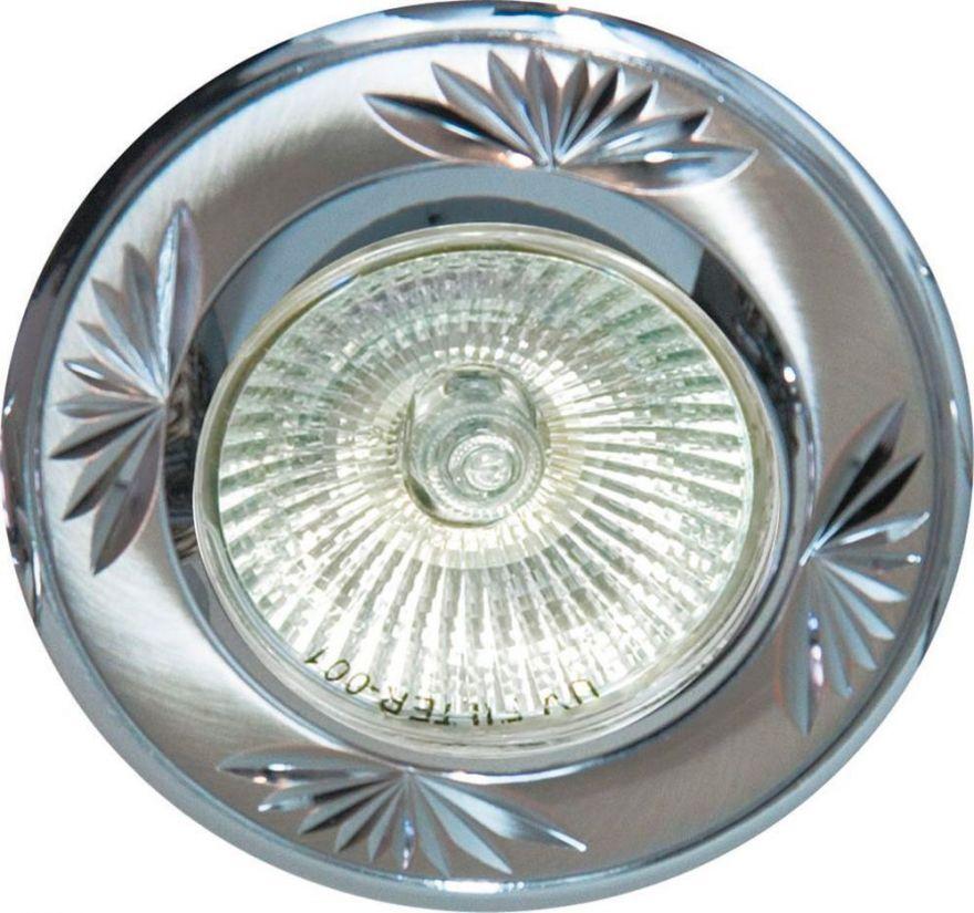 Встраиваемый светильник Feron DL246 титан-хром
