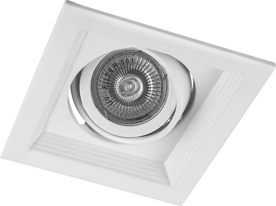 Встраиваемый светильник Feron DLT201 белый