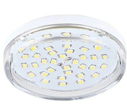 Светодиодная лампа Ecola GX53 св/д 8W 2800K 2K 27x75 прозр. Light T5TW80ELC