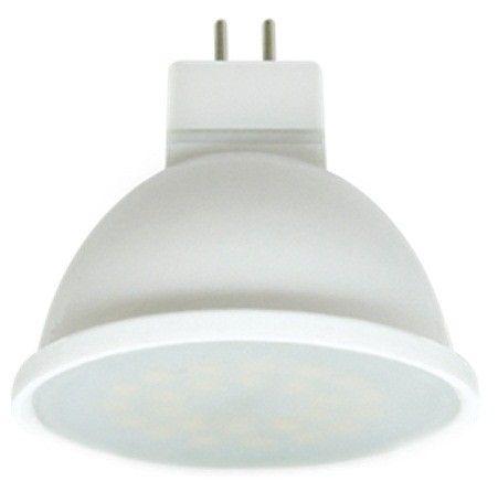 Светодиодная лампа Ecola MR16 GU5.3 220V 7W 2800K 2K 48x50 пласт./алюм.матов.  Premium M2UW70ELC