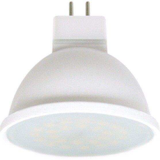Светодиодная лампа Ecola MR16 GU5.3 220V 7W 6000K 6K 48x50 матов. M2RD70ELC