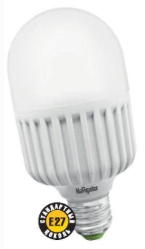 Светодиодная лампа Navigator мощная E27 20W(1600lm) 4000 4K 142x70 40000h NLL-T70-20-230-840-E27 94379