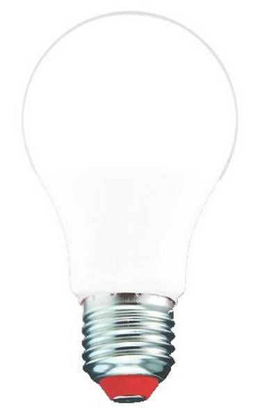 Светодиодная лампа Pulsar ЛОН A60 E27 10W(950Lm) 2700K 2K 109x60 пластик/алюминий ALM-A60-10E27-2700-P