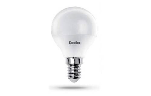 Светодиодная лампа Camelion Шар G45 E14 8W(750 220°) 4500K 4K матов. 80x45 пластик LED8-G45/845/E14