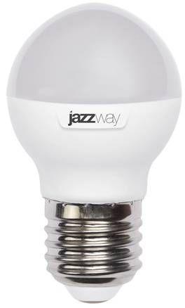 Светодиодная лампа Jazzway Шар G45 E27 7W(530lm) 3000K 2K PLED-SP .1027863-2