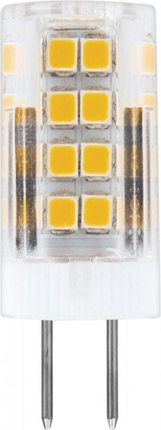 Светодиодная лампа Feron G4 5W(460Lm) 2700K 2K 45x16 прозрач. LB-432 25860