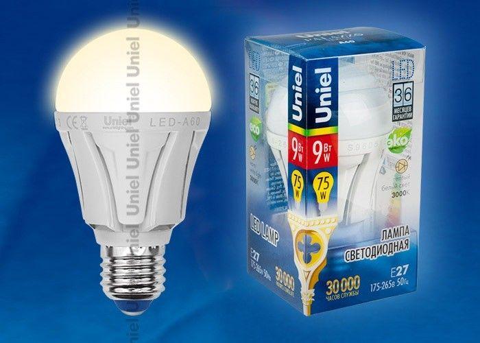 Светодиодная лампа Volpe ЛОН A65 E27 15W(1300lm) 4500K 4K матовая 118x65 LED-A65-15W/NW/E27/FR/O