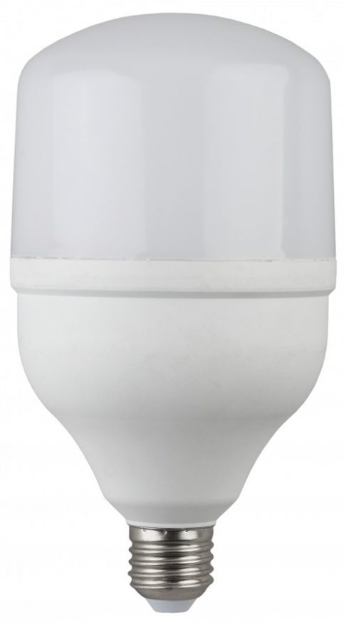 Светодиодная лампа ЭРА стандарт высокомощн. E27 100W(8000lm) 4000K 4K 318х160 POWER (переходник на E40) 8250