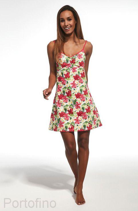 610-153 Сорочка женская короткий рукав Cornette