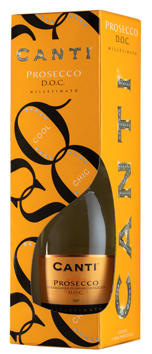 Prosecco gift box, 0.75 л., 2018 г.