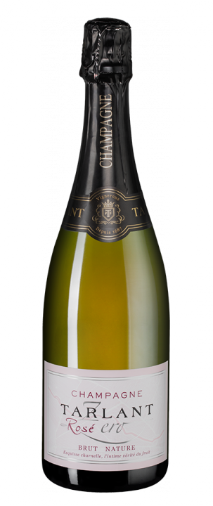 Champagne Tarlant Zero Rose Brut Nature, 0.75 л.