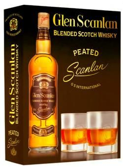 BLENDED SCOTCH WHISKY PEATED GLEN SCANLAN
