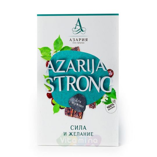 Перга AZARIJA STRONG Функциональное питание для мужчин