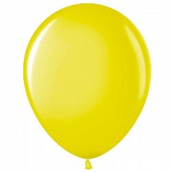 """Шар (5""""/ 13 см), жёлтый, пастель, 100 шт"""
