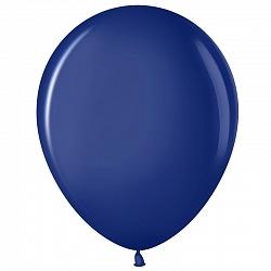 """Шар (12""""/ 30 см), тёмно-синий, пастель, 100 шт"""