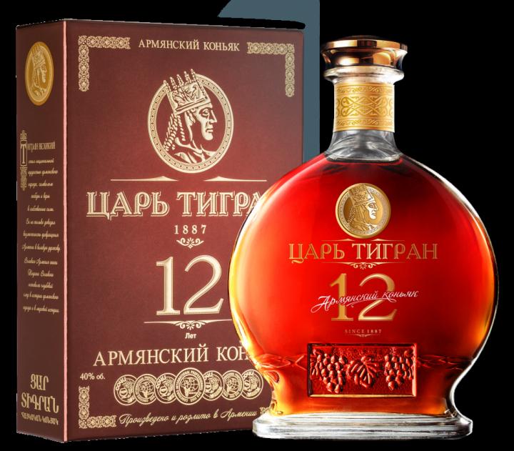 Царь Тигран 12 лет выдержки, 0.7 л.
