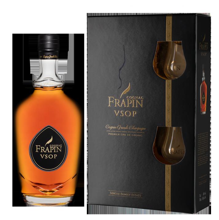 Frapin VSOP Grande Champagne 1er Grand Cru du Cognac (gift box), 0.7 л.