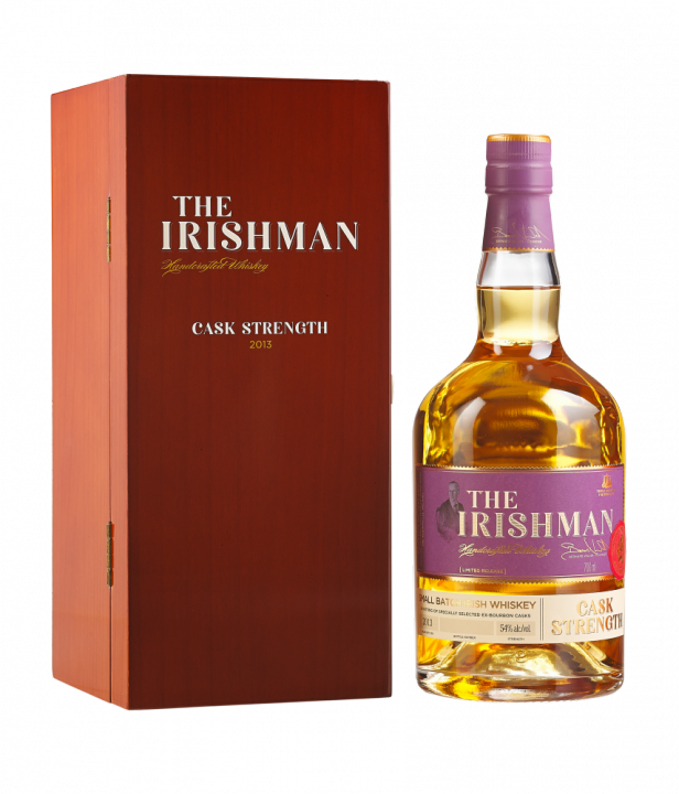 The Irishman Cask Strength Vintage Release, 0.7 л.