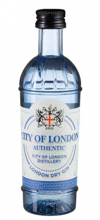 City of London Dry Gin, 0.05 л.