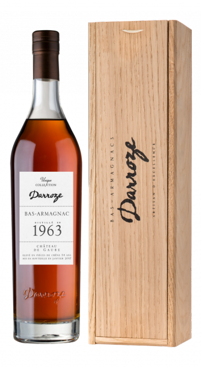 Bas-Armagnac Darroze Unique Collection Chateau de Gaube a Perquie 1963, 0.7 л., 1963 г.